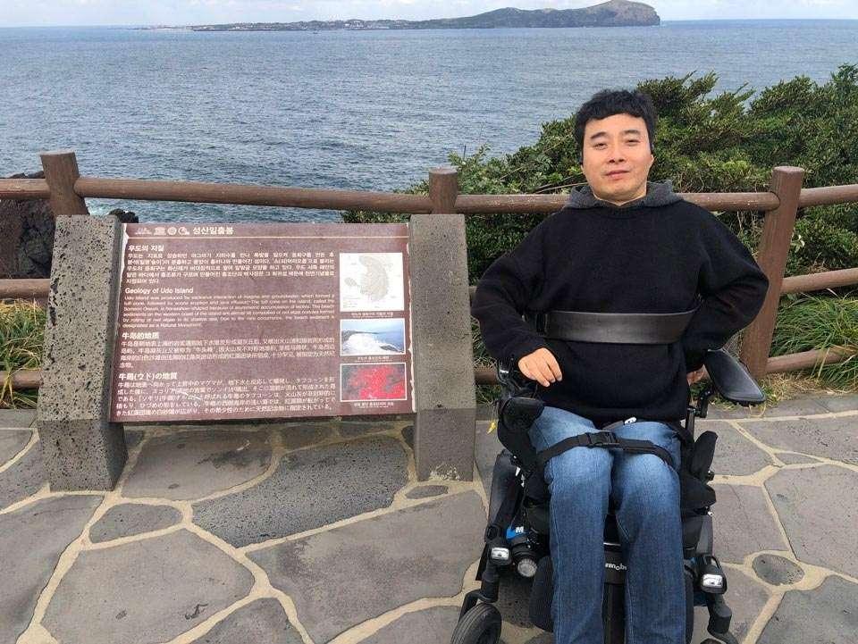 성산 일출봉-휠체어 접근 바닷가 해변 무료입장(구간이 짧아서 아쉬움)